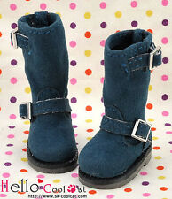 ☆╮Cool Cat╭☆【10-16】Blythe Pullip Doll Boots # Midlight Blue