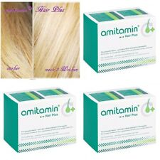 AMITAMIN - Hair Plus Capsules 3 Packs - 90 days STOP HAIR LOSS *FREE SHIPPING*