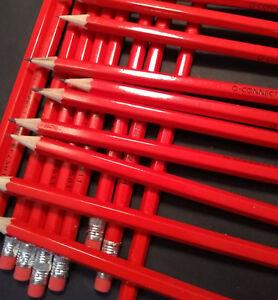 HB Rubber Tip Pencils - School Office - Full Length