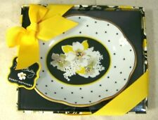 Vera Bradley Sweet Nothings Dish with Dogwood Flowers Nwt