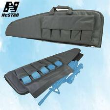 NcStar 42'' Padded Tactical Rifle Bag Mag Pouch Soft Gun Case Urban Gray Cvu2907