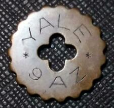 UNITED STATES Chigago GOETZ YALE 9 A Z - TELEPHONE TOKEN (ex RUBIO's collection)