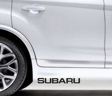 2x Side Skirt Stickers Subaru Impreza Premium Qaulity Decals VL92