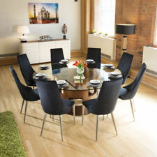 Unbranded Glass Table & Chair Sets with 8 Seats