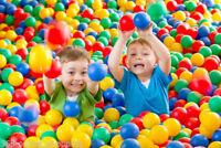 CHILDRENS KIDS PLASTIC PLAY BALLS BALL PITS PEN POOL MULTICOLOURED SOFT BALL