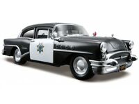 BUICK CENTURY 1955 POLICE 1:24 scale diecast model die cast cars models toy