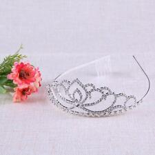 Newest Rhinestone Tiara Hair Band Kid Girl Bridal Princess Prom Crown Headband