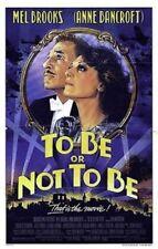 TO BE OR NOT TO BE ORIGINAL FOLDED MINT MOVIE POSTER 1983 MEL BROOKS