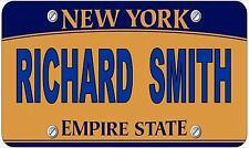 Fantaisie Numéro De Plaque,personnalisé Amusant Américain New York