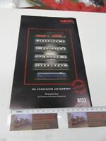 Z - Marklin 8133 Booklet for Rheingold Set