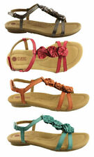 Flat (0 to 1/2 in.) T-Strap Wide (C, D, W) Shoes for Women
