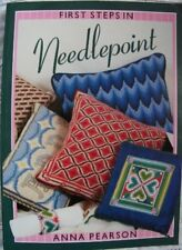 First Steps in Needlepoint By Anna Pearson