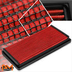 For 95-05 Chevy Blazer 4.3 Reusable Multilayer High Flow Air Filter Panel Red
