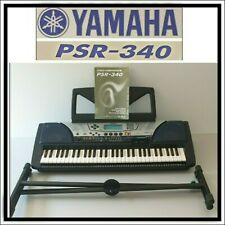 YAMAHA PSR-340 PORTABLE ELECTRONIC KEYBOARD  #77