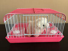 Perfect Kids Christmas Present, Bring their Toy Pet to Life! Miniature Cage Pink