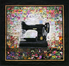 Whims Watercolor Quilt Kits Grandmas Sewing Machine Quilting Supplies 100 Cotton