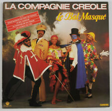 disco  La Compagnie Créole – Le Bal Masqué-LP 33-Carrere  66201-Francia 1984