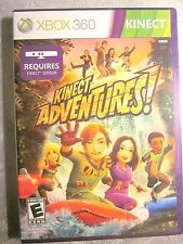 KINECT ADVENTURES (Microsoft Xbox 360, 2010) Fine, No Scratches On Disc