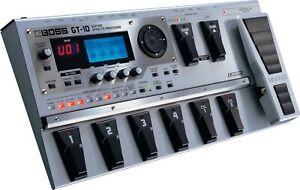 BOSS GT-10 GUITAR EFFECTS PEDAL PROCESSOR & POWER SUPPLY 8 001 100