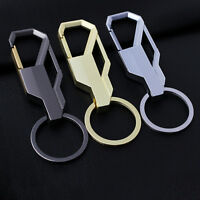Creative Luxury Mens Alloy Metal Keyfob  Car Keyring Keychain Key Chain Ring WK