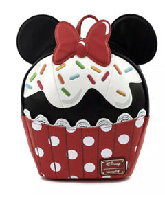 Loungefly Disney Minnie Mouse Sprinkle Cupcake In Hand Free P&P