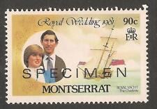 Montserrat Royalty Stamps