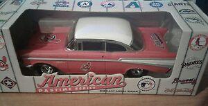 Cleveland Indians Diecast Ertl Bank 1957 Chevy