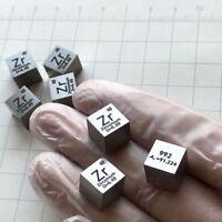 Zirkonium Zr Metall 10mm Dichte Würfel 99,2% Hohe Reinheit Element Sammlung