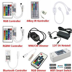 Bluetooth/WIFI LED Contrôleur & 24 Touches Télécommande pour RGB/RGBW LED Bande