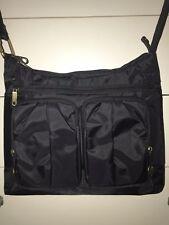 TRAVELON PURSE BAG SAFE TRAVELING SHOULDER BAG BLACK ANTI THEFT RFID SPOTLESS!!