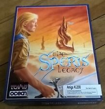 The Speris Legacy For Commodore Amiga, New Open Box, Ocean
