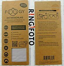 original Foogy Antibeschlagtuch Mikrofaser Brille Reinigungstuch Kameralinse Neu