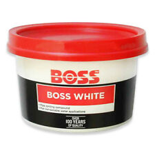 More details for boss pipe jointing compound joint sealant nat gas water thread paste seal 400g