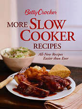 Betty Crocker More Slow Cooker Recipes ( Hardcover-Spiral Edition)-ExLibrary