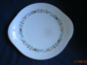 ROYAL DOULTON  H5002 PASTORALE HANDLED BREAD AND BUTTER CAKE  PLATE 27CM