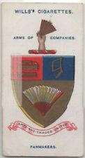 Worshipful Company Fan Makers Guild London England 100+ Y/O Trade Ad Card