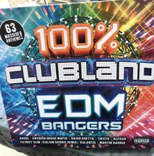 100% Clubland EDM Bangers - Avicii/David Guetta/Alesso/...3CD New Sealed