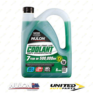 NULON Long Life Concentrated Coolant 5L for CHRYSLER Neon 2.0L Engine 1996-1999