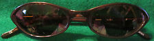 Fossil Sun Glasses PS 3197 Koo Chi Koo CE Brown on Brown Cat Eye
