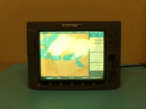 Raymarine E120 GPS Chartplotter Radar Navigation Multi Functional Display workng