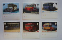 ISLE OF MAN 1999 BUSES SET OF 6 MINT STAMPS MNH