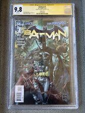 Batman #1 Cgc 9.8 SS signed By Michael Keaton - The New 52 2011