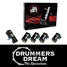 ddrum DRT Dual Redundant Triggers - 5 Piece Acoustic Drum Trigger Pack