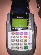 VeriFone Omni 3200Se Credit Card Reader / Printer With Ac Adapter Power Supply