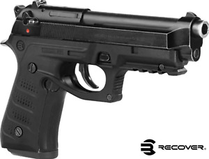 Recover Tactical BC2 fits Beretta 92 M9 Grips & Rail System Black