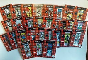 2019 Marvel Flair Pieces of Flair Complete Set and SP Patch Set 29 Cards
