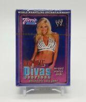 2004 WWE Raw Deal Divas Overload 61 Card Starter Deck TORRIE WILSON Sealed Pack