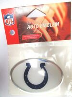 Indianapolis Colts NFL Football Emblem Logo oval mit Chromrand