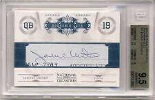 JOHNNY UNITAS 2011 National Treasures Souvenir Cuts CUTO AUTO /40 BGS 9.5 COLTS