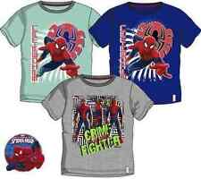 Spiderman Jungen-T-Shirts, - Polos & -Hemden mit Rundhals-Ausschnitt und Motiv